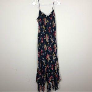 NWT Ralph Lauren Sandwashed Silk Maxi Dress